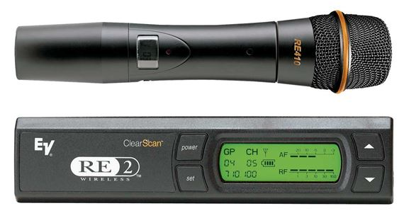 Electro-Voice RE2410A Condenser Vocal Wireless Microphone System