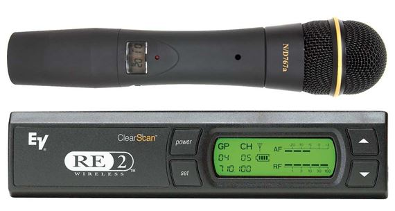Electro-Voice RE2N7 Handheld Vocal Wireless Microphone System