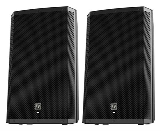 Electro-Voice ZLX15P 15 inch 2-Way Full Range Powered Loudspeakers Pair