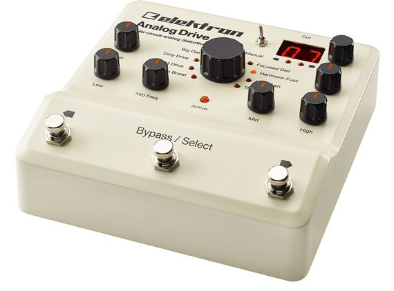 Elektron Analog Drive Analog Distortion Pedal
