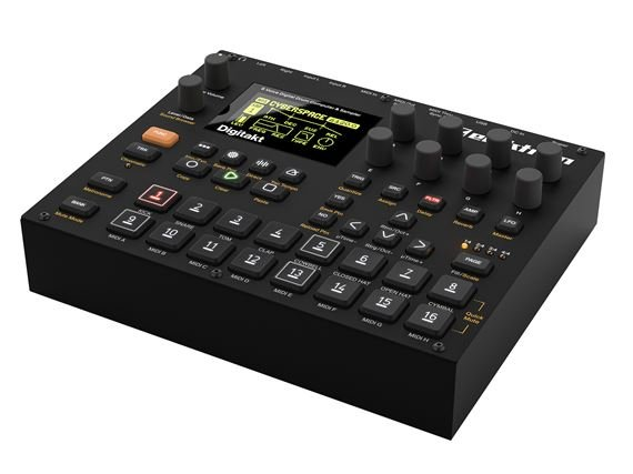 Elektron Digitakt Sampler and Sequencer