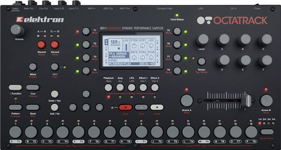 Elektron Octatrack Desktop Sampler Sequencer