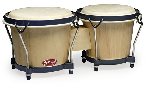 Stagg BW70N Traditional Wooden Bongos