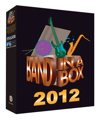 PG Music Band In A Box 2012 Music Production Software