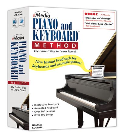 eMedia Piano and Keyboard Method Version 3 Software