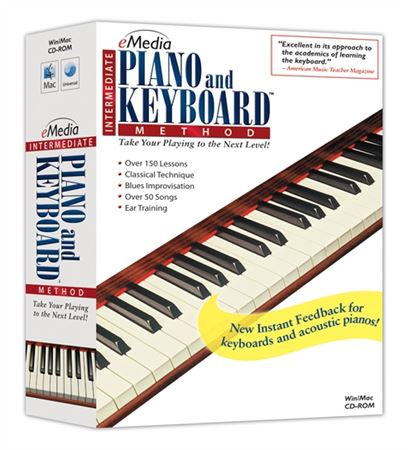 eMedia Intermediate Piano and Keyboard Method 2 Software