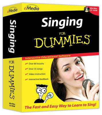 eMedia Singing For Dummies Software