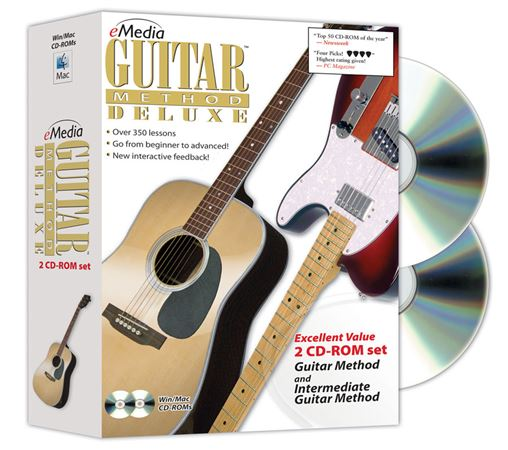 eMedia Guitar Method Deluxe CDROM Software