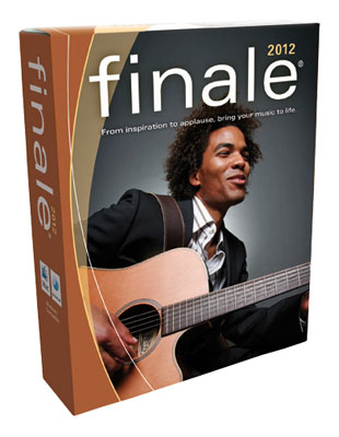 Make Music Finale 2012 Notation Software