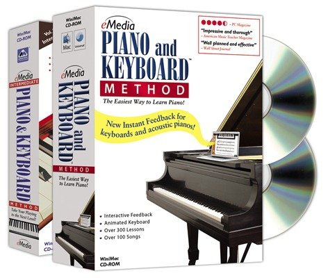 eMedia Piano and Keyboard Method Software