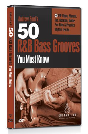 Guitar Lab 50 R and B Bass Grooves You Must Know DVD