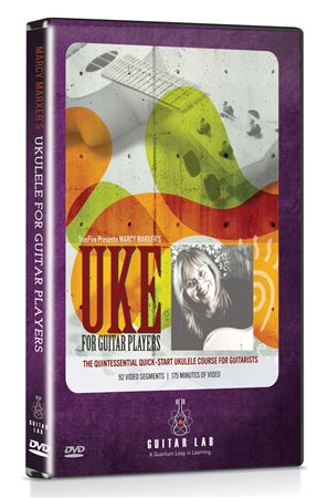 Guitar Lab Ukulele For Guitar Players DVD