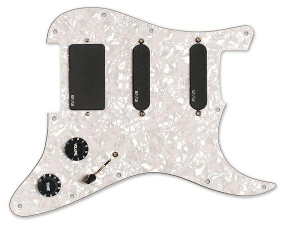 EMG KH20 Kirk Hammett Active Pickup Set with Pickguard