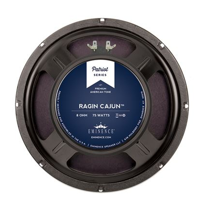 Eminence Patriot Ragin Cajun 10 Inch Guitar Speaker 75 Watts