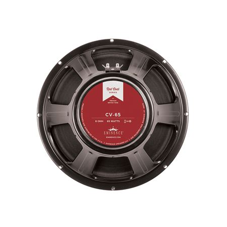 Eminence CV65 Redcoat Guitar Speaker 12in 75 Watts 8 Ohms