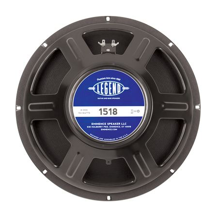 Eminence Legend 1518 15 Inch Replacement Speaker 150 Watts