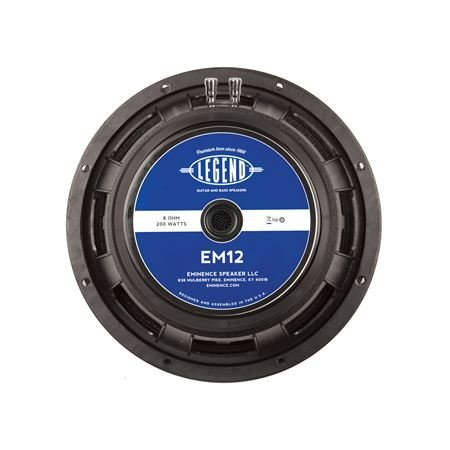 Eminence Legend EM12 12 Inch Guitar Speaker 200 Watts