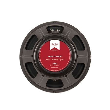Eminence Red Coat ManOWar 12 Inch Guitar Speaker 120 Watts