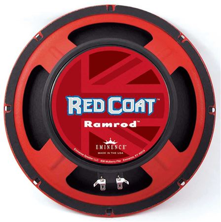 Eminence Red Coat Ramrod 10 Inch Guitar Speaker 75 Watts