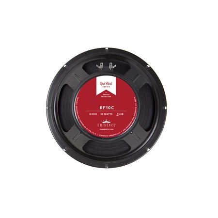 Eminence Redcoat Red Fang RF10C 10 Inch Guitar Speaker 50 Watts