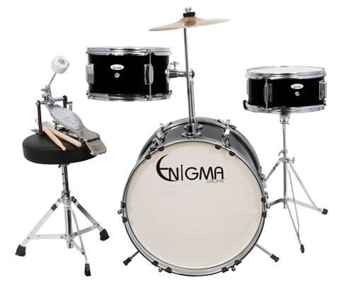 Enigma EN30 3 Piece Junior Drum Set with Drum Throne