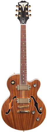 Epiphone Limited Edition Wildkat KOA with P90s and Bigsby Natural