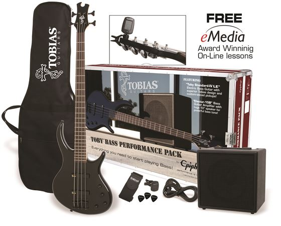 Tobias Toby Bass Guitar Performance Pack