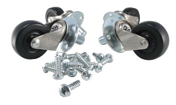 Ernie Ball 6102 Amplifier Casters Pop Out