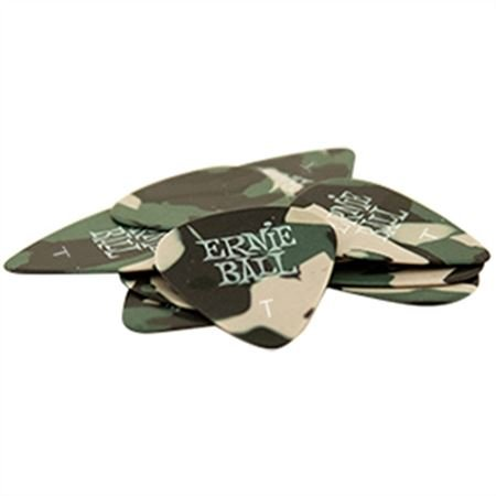 Ernie Ball Camouflage Guitar Picks 12 Pack