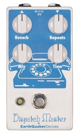 EarthQuaker Devices Dispatch Master V2 Delay Pedal