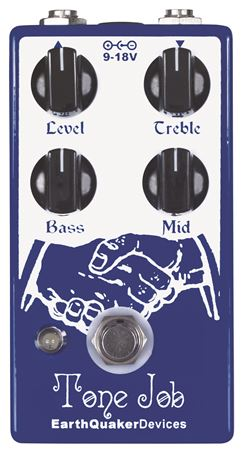 EarthQuaker Devices Tone Job EQ and Booster Pedal