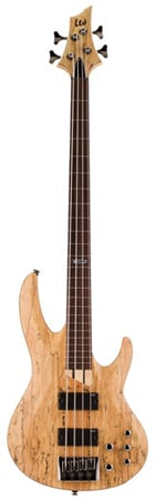 ESP LTD B204 Fretless Electric Bass Guitar