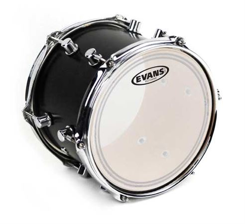 Evans EC2S Edge Control with SST Coated Drum Head