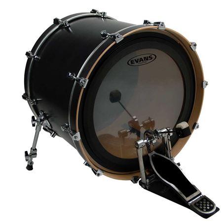 evans emad 2 clear bass drum head. Black Bedroom Furniture Sets. Home Design Ideas