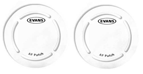 Evans EQ AF Fiber Kick Patch