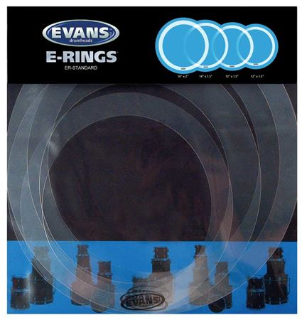 Evans E Rings Sound Control Package
