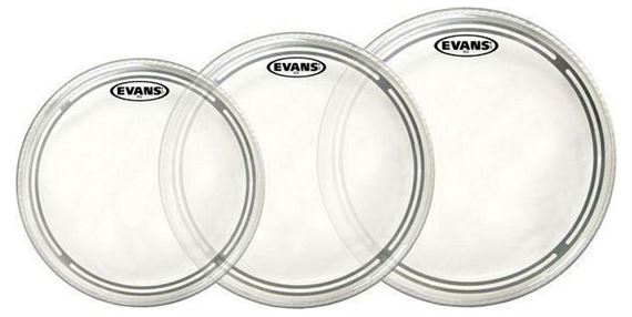 Evans EC2S Standard Clear Tom Head Package