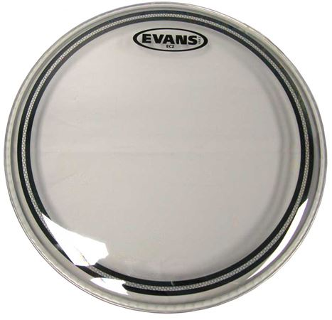 Evans EC2S Edge Control with SST Clear Drum Head