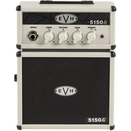 EVH 5150 III Micro Stack 1 Watt Battery Powered Amp Ivory