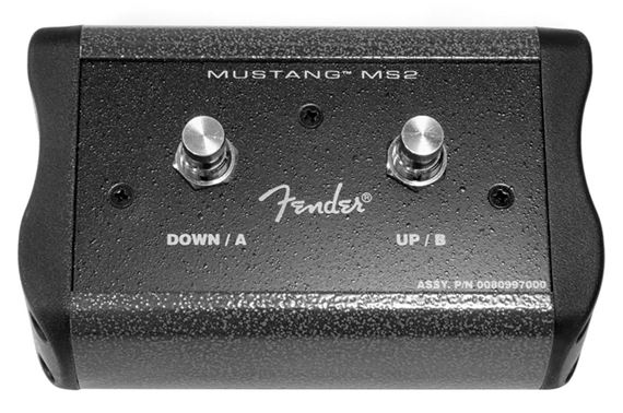 Fender 0080997000 2 Button Footswitch for Mustang III  IV  V