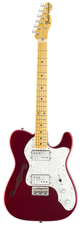 Fender American Vintage 72 Telecaster Thinline with Case