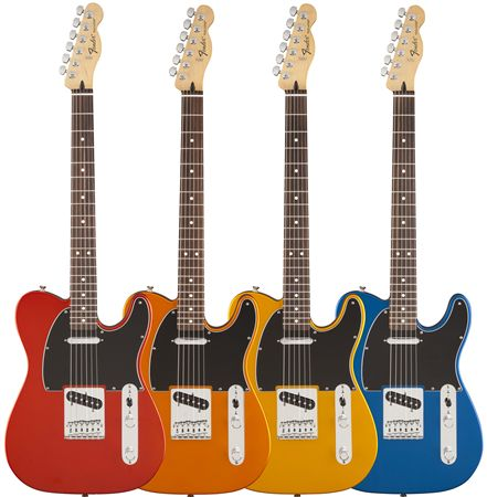 review fender standard telecaster satin electric guitar. Black Bedroom Furniture Sets. Home Design Ideas