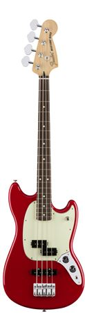 Fender Mustang Bass PJ Electric Bass Torino Red