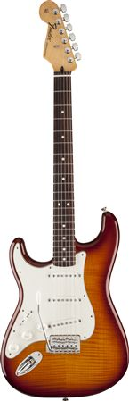 Fender Standard Stratocaster Plus Top Left Handed RW Fingerboard