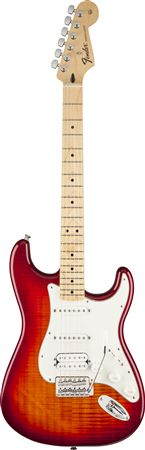 Fender Standard HSS Plus Top Stratocaster Maple Fingerboard