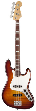 Fender Select Active Jazz Bass with Case