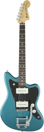 Fender LE American Special Jazzmaster with Bigsby Ocean Turquoise W/C