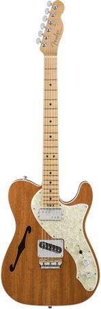Fender 2017 LE Exotic American Elite Mahogany Tele Thinline with Case