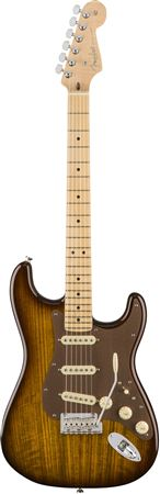 Fender 2017 LTD Exotic Shedua Top Stratocaster with Case