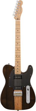 Fender 2017 LTD Exotic Malaysian Blackwood Telecaster with Case